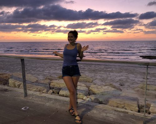 Beachtime und Weekendtrip to Haifa
