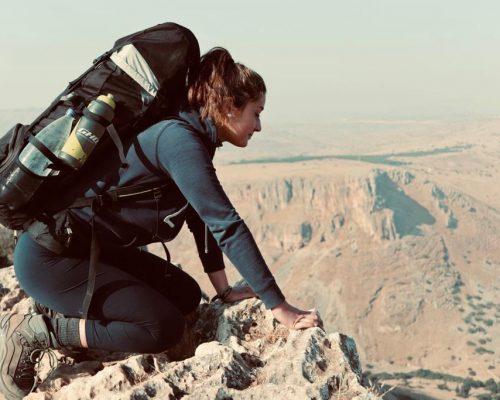 Hiking im Mount Arbel Nationalpark