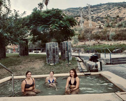 Relaxen in den heißen Quellen in Tiberias
