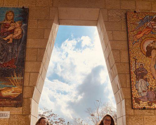 Belli und Paula unterwegs im Norden Israels